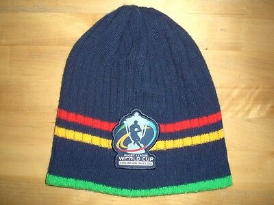 Rugby League World Cup England & Wales 2013 Beanie Hat - One Size  *perfect*