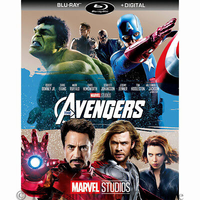 The Ultimate Superhero Movie Marvel's The Avengers on Blu-ray and Digital Copy