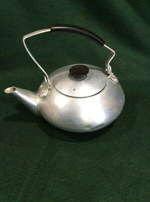 Vintage Small Aluminum TEA POT made in Japan