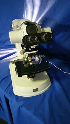 Zeiss Research Microscope with 26 objective lenses and more