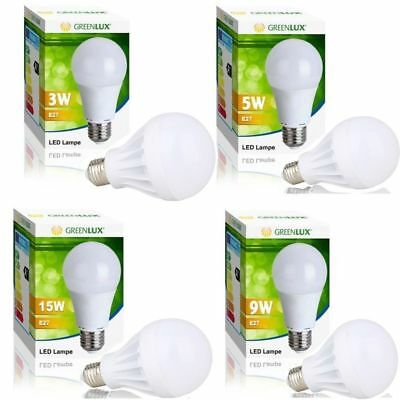 Smart LED E27 5W 7W 9W 12W Emergency Lights Bulb Lamp OO~`