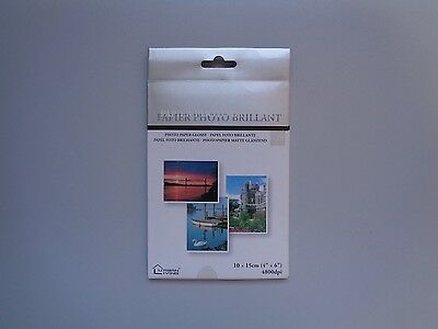 Pack Papier Photo Brillant Format A6 (10 x 15)  -  Neuf