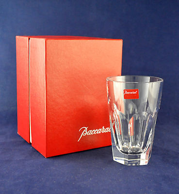 """Baccarat Crystal """"HARCOURT"""" Whiskey Tumbler / Glass – 10cms (3-7/8″) Tall"""