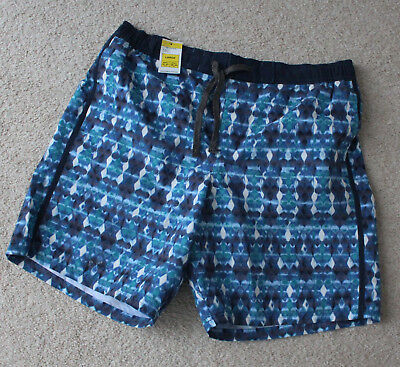 Mens M&S North Coast Sizes M L XL Quick Dry Swim Swimming Water Shorts Bnwt
