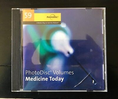 PhotoDisc Stock Images Photography CD—Medicine Today -Volume 59
