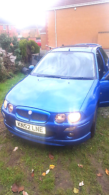 Rover MG zr 1.4 52 reg low mileage Mot May 2018 Gasket been done kn 52 lne