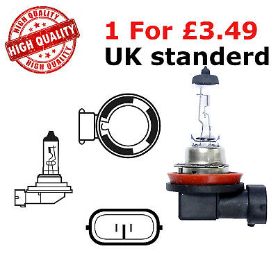 Halogen Bulbs 12v 55w H11 Replacement Fog Light Fits Honda Accord MK8 2.0i