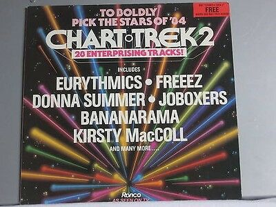 Sampler - Chart Trek Volumes 2 *LP*TOP*Ronco RON LP 8