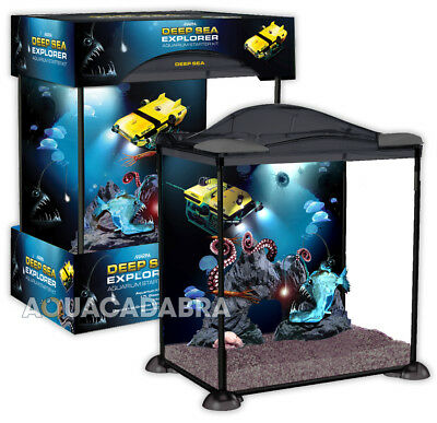 Marina Deep Sea Explorer Aquarium 17L Starter Fish Tank Tropical & Cold Water