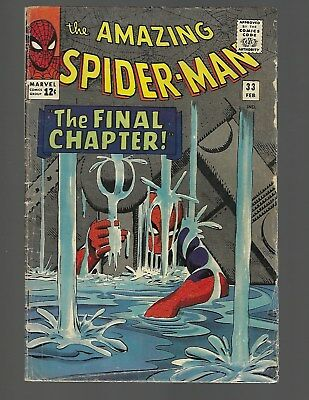Amazing Spiderman #33 The Final Chapter