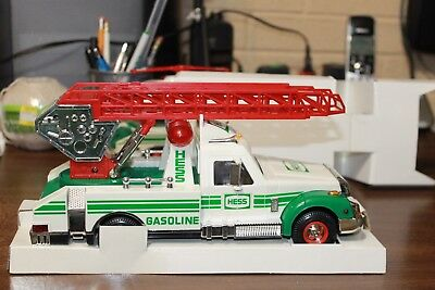 Vintage Hess Truck 1994 NIB Non Smoking environment. Lights, Horn & Siren work