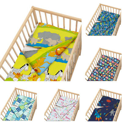 Childrens Cot Size Duvet Cover Set with Pillow Case Bedding BLACK FRIDAY DEAL