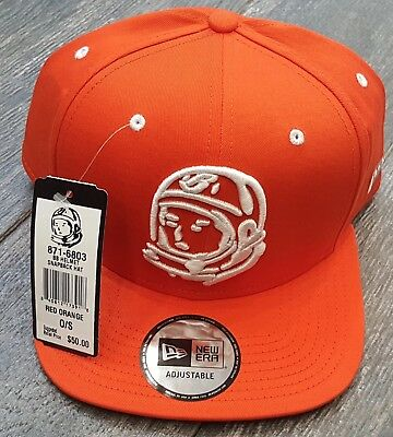 bb6dfde5d9c Bbc Billionaire Boys Club Bb Helmet Snapback Hat In Orange Osfa 100%  Authentic