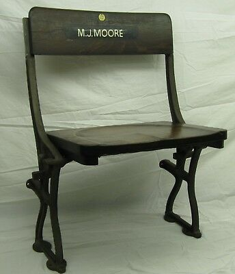 Vintage Cinema / Theatre / Arena Seats, Solid Oak, Lovely Seats (SEE PICTURES)
