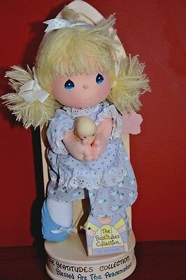 Precious Moments, The Beatitudes Collection Plush Jenny Doll