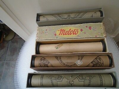 collection of vintage/antique pianola rolls with original boxes  unusual job lot