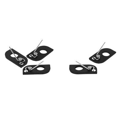 Compact Magnetic Arrow Rest Archery Tool Accessories Recurve Bow Durable Black