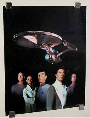 Original 1979 Star Trek movie 24 by 20 inch premium poster:Captain Kirk/Mr Spock
