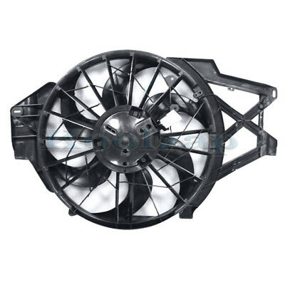 RADIATOR CONDENSER COOLING FAN FOR 99-04 FORD MUSTANG 3.8 V6 6CYL