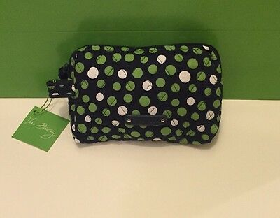 NWT Vera Bradley Travel SMALL Cosmetic Bag In Lucky Dots