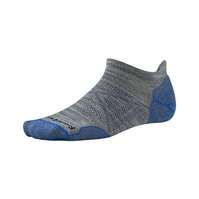 New Smartwool Men's PhD Outdoor Light Micro Socks Light Gray Large