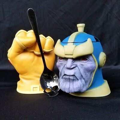 Thanos / Infinity Gauntlet Ceramic Sugar Bowl & Creamer Set - HIGHLY LIMITED!!!