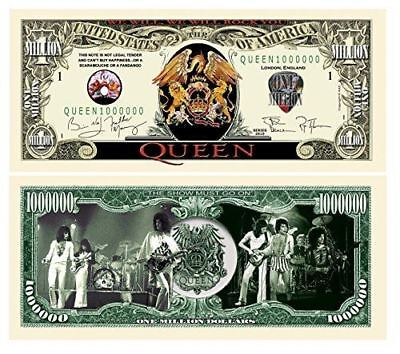 Set of 25 - Queen Million Dollar Collectible Bill