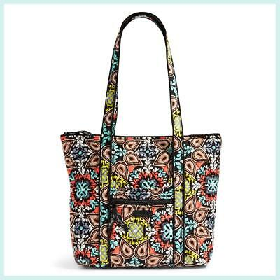 Nwt $68 Vera Bradley Villager Tote Shoulder Purse - Sierra