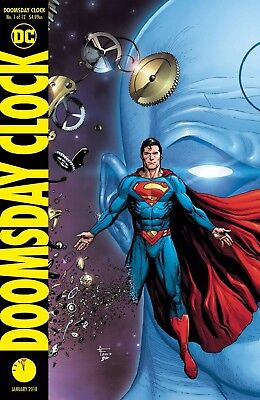 Doomsday Clock 1 Gary Frank Superman Color Variant Nm Watchmen Sold Out