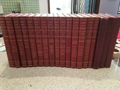 Complete Set Richards Topical Encyclopedia
