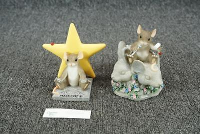 Lot Of 2 Fitz & Floyd Charming Tails Figurines