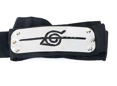 Naruto Uchiha Itachi Akatsuki Cosplay Headband Japan Anime Black