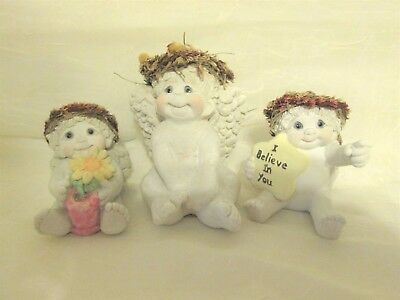 Kristin Haynes DREAMSICLES Lot of 3, Sunflower, Sitting Pretty, I Believe in You