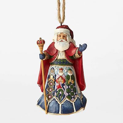 4053837 Jim Shore Christmas Ornament Santa around the World NIB Spanish Spain