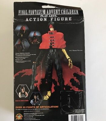 Final Fantasy VII Advent Children Play Arts Vincent Action Figure