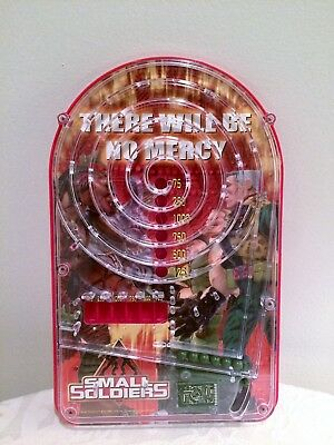 1998 SMALL SOLDIERS Handheld Electronic Pinball Game