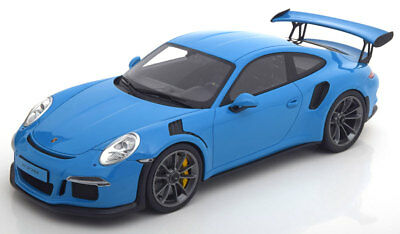 GT Spirit 2016 Porsche 911 / 991 GT3 RS Blue LE of 2000 1/18 Scale New Release!