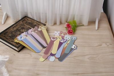 So many !!! 30pcs 3D Animal Paper Bookmarks Book Holder Stationery School Supply