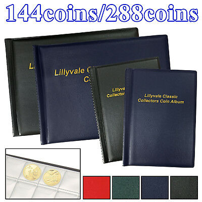 120/240 Collecting Coin Penny Money Storage Album Book Holder Case Collection