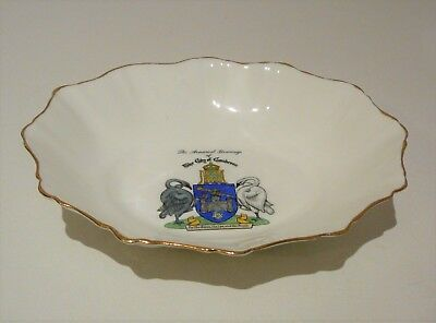 Royal Stafford City of Canberra Dish Souvenir Commemorative Coat of Arms