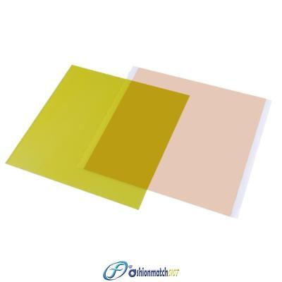 Yellow 220x220x0.3mm PEI Sheet for 3D Printing Printer with 468MP Adhesive Tape