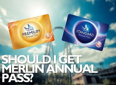 Merlin Annual Pass 20% Discount Online (Standard / Premium, Individual / Family)