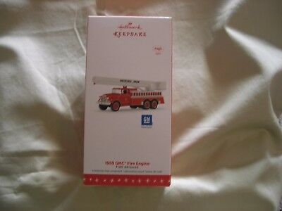 "2016 Hallmark ~ Fire Brigade Series ~ ""1959 GMC Fire Engine"" ~ Magic ~ MNIB"
