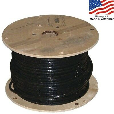 SIMpull 3/0-AWG Stranded Black Copper THHN Wire (By-the-Foot) Cable Trays