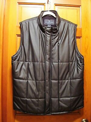 Mens Reaction Kenneth Cole Quilted Vest - Size XL