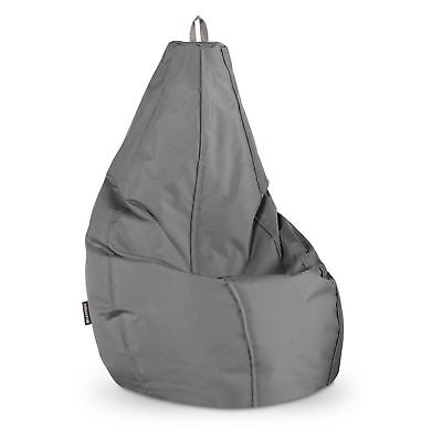 Puff Pera Naylim Impermeable Gris Happers