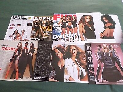 Destiny's Child  -  Pop  Music - Clippings /cutting Pack
