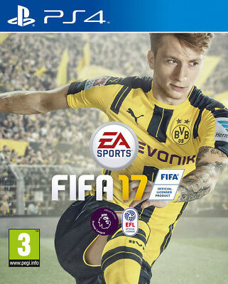 Fifa 17 (Ps4)  Brand New And Sealed - In Stock - Quick Dispatch