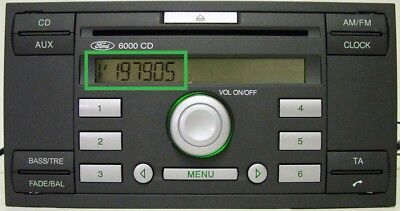 Ford V or M series Radio Code , 10 min service ,focus, transit, fiesta, V serial