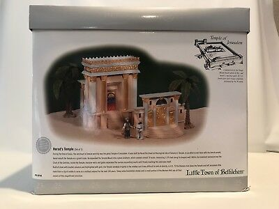 "Dept. 56 Little Town of Bethlehem Series -""Herod's Temple"" NEW IN BOX"